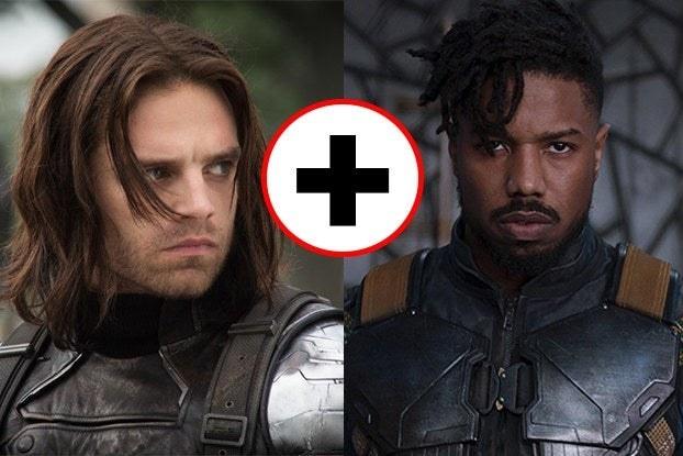 Bucky Barnes and Killmonger