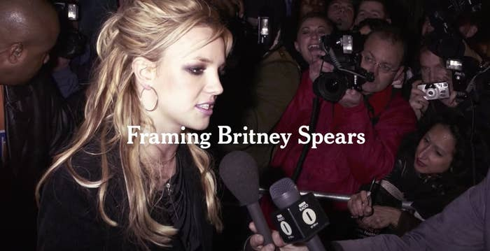 Title card for Framing Britney Spears