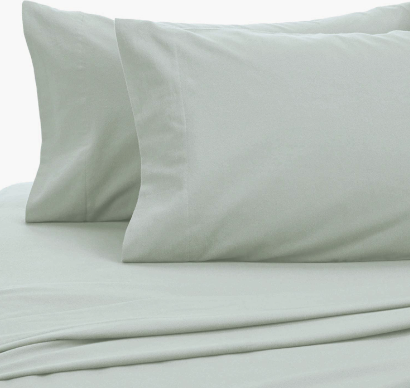 set of sheets in sea color
