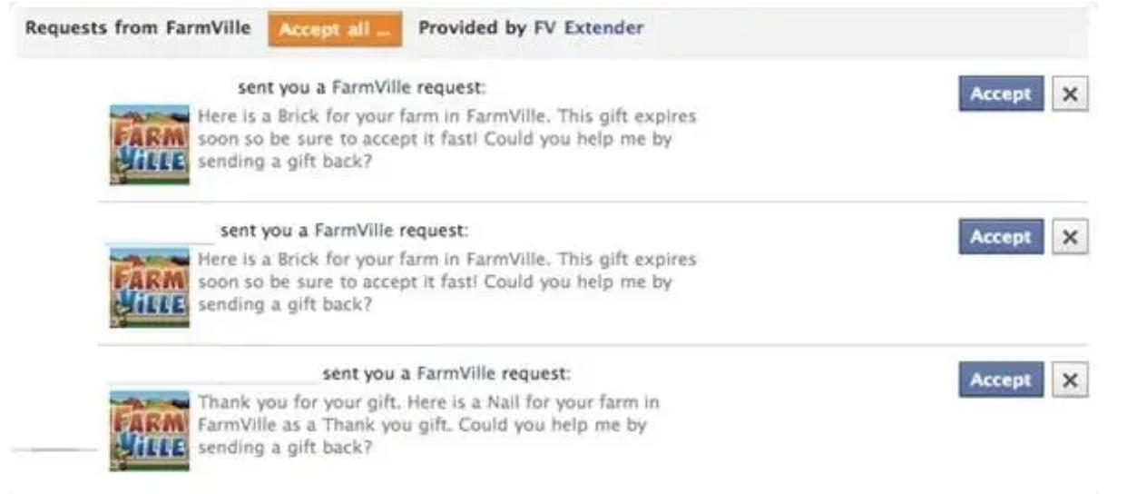 farmville invites