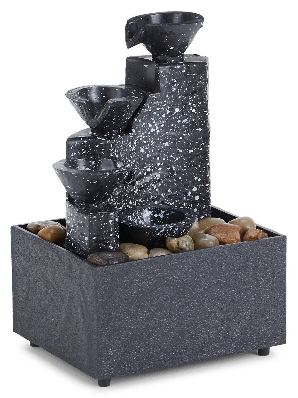 the black speckled fountain