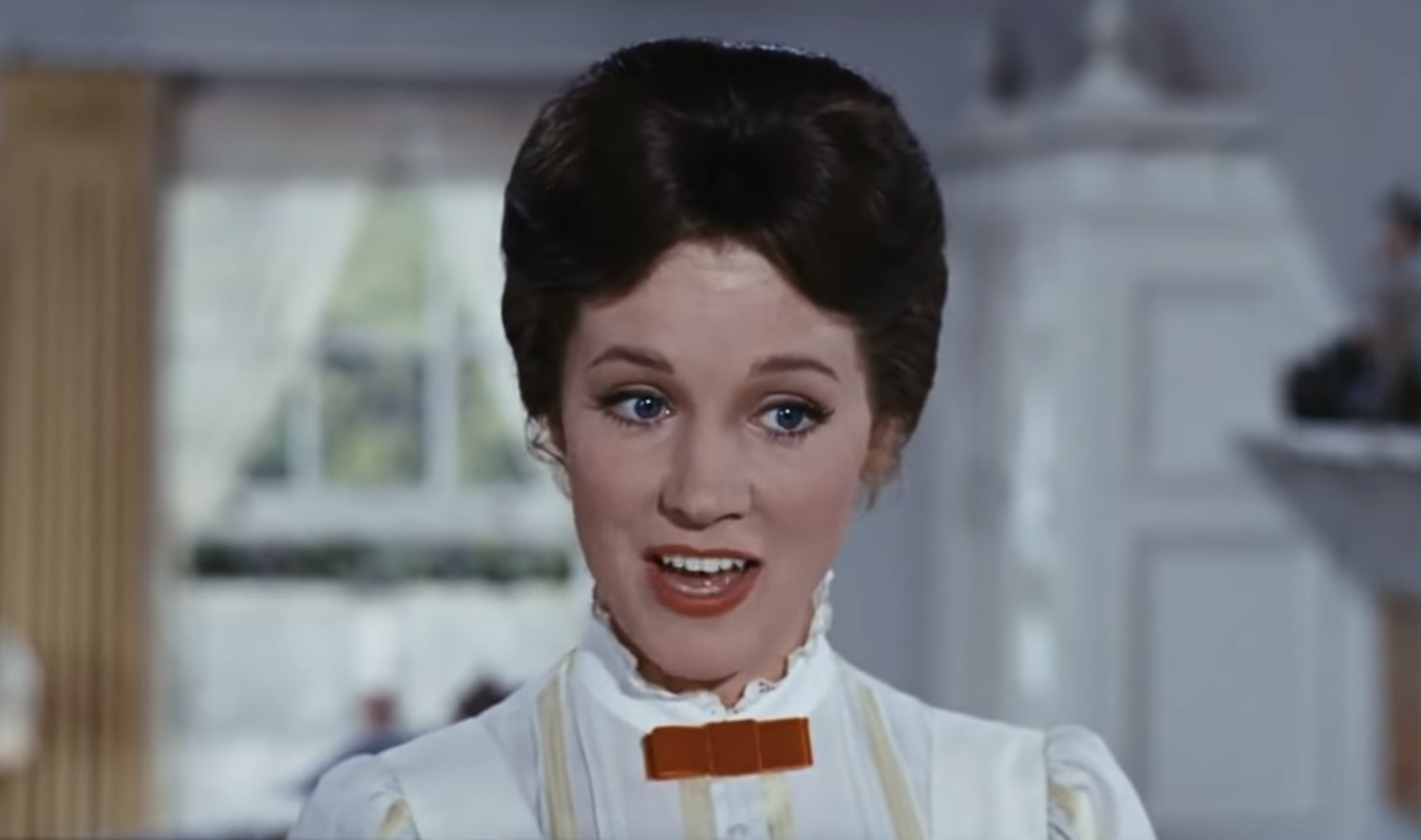 Mary Poppins in the original 1964 film