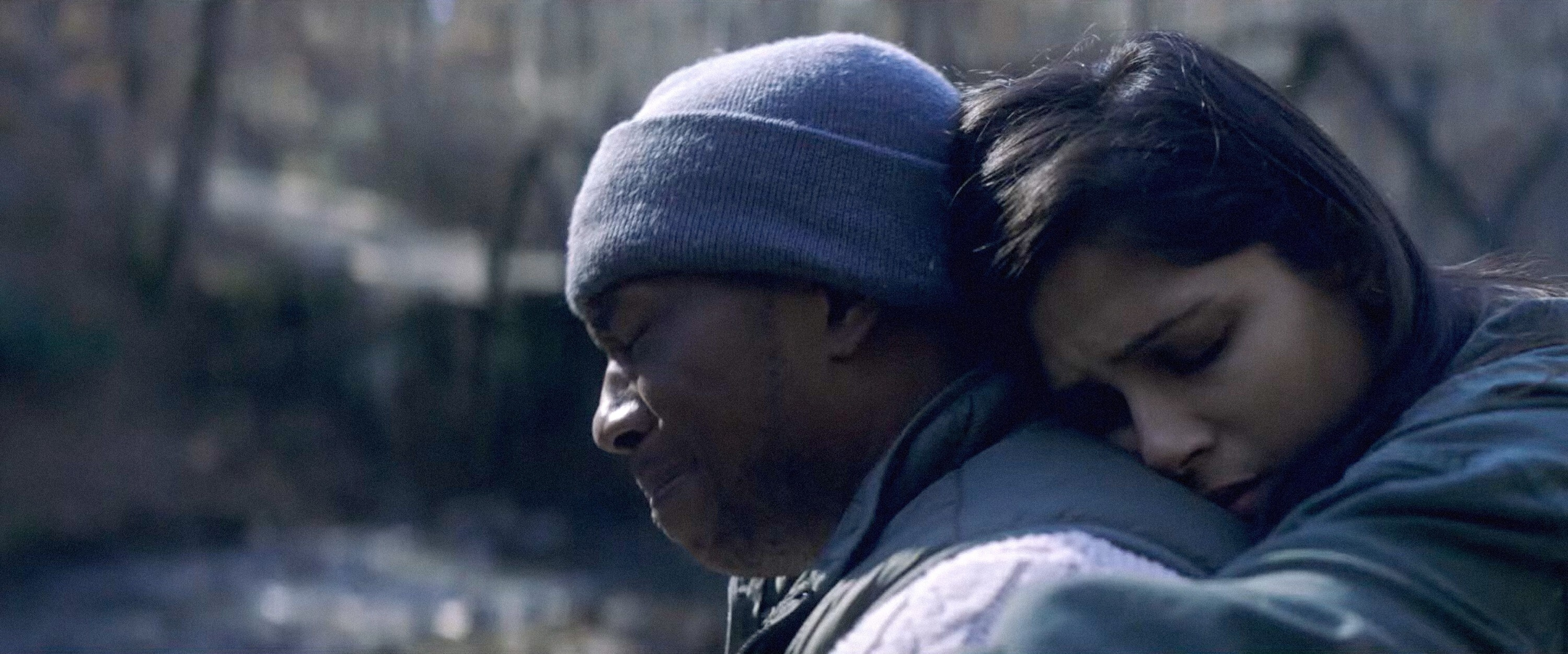 """Leslie Odom Jr. and Freida Pinto in """"Only"""""""