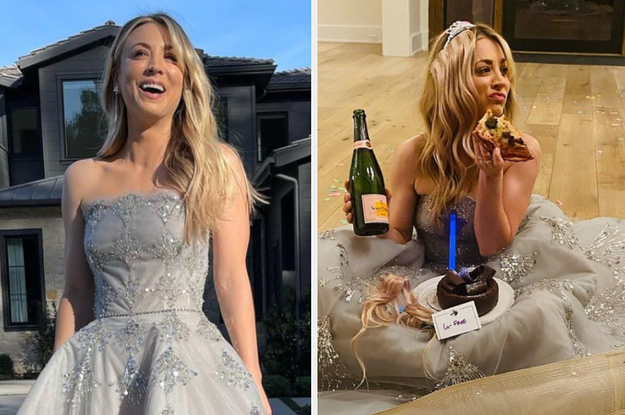 Kaley Cuoco Celebrated Losing At The Golden Globes With An Hilarious Instagram Post That Should Win An Award Of Its Own