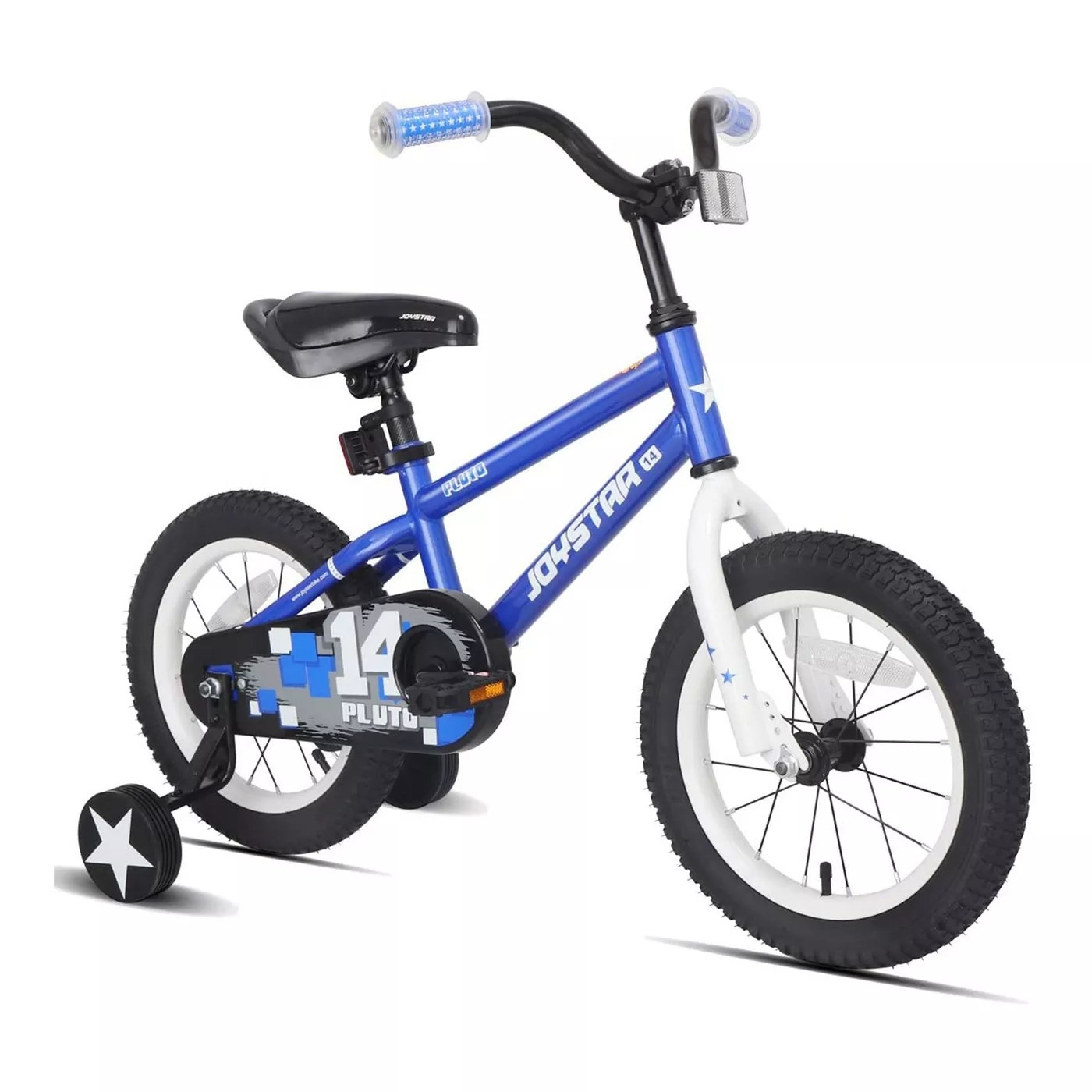 The blue Joystar bike