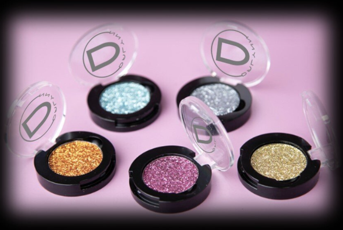 pressed glitter pigments