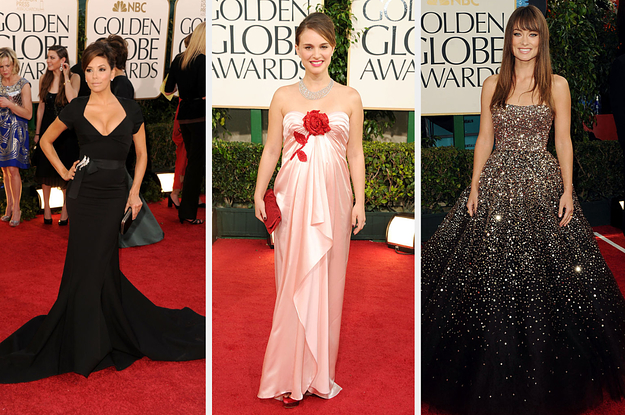 You Can Only Pick One Iconic Outfit From Each Year At The Golden Globes, And Sorry, But Its Pretty Hard