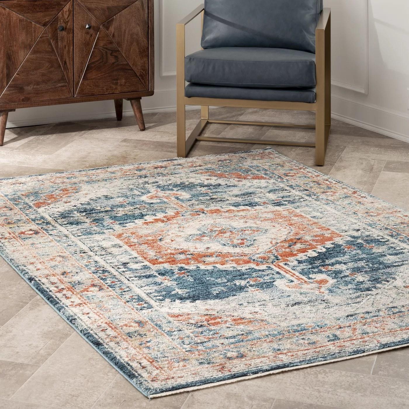 The medallion rug