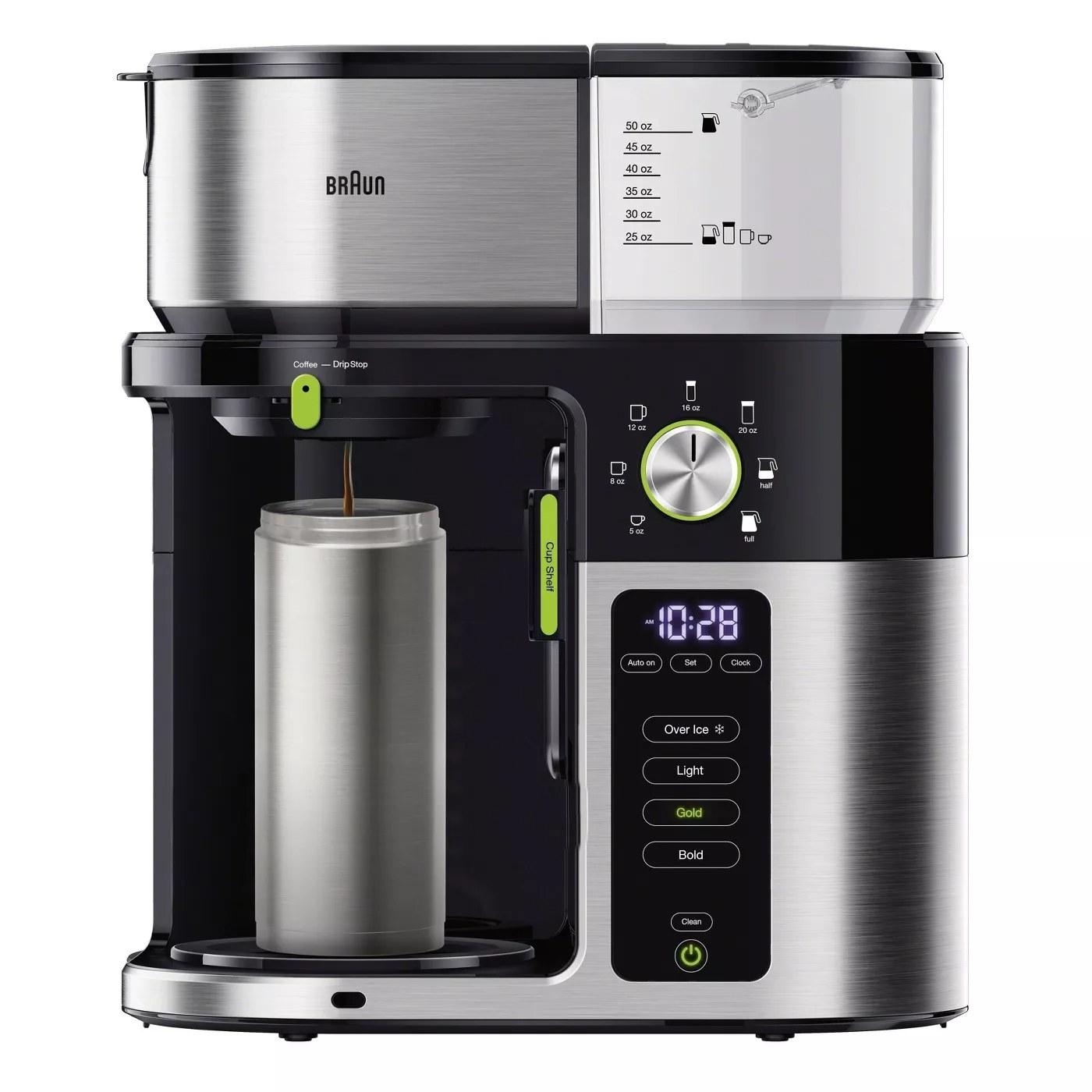 The Braun drip coffee maker