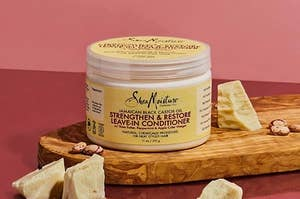 The conditioner, which comes in a wide-mouth jar with a screw-on top