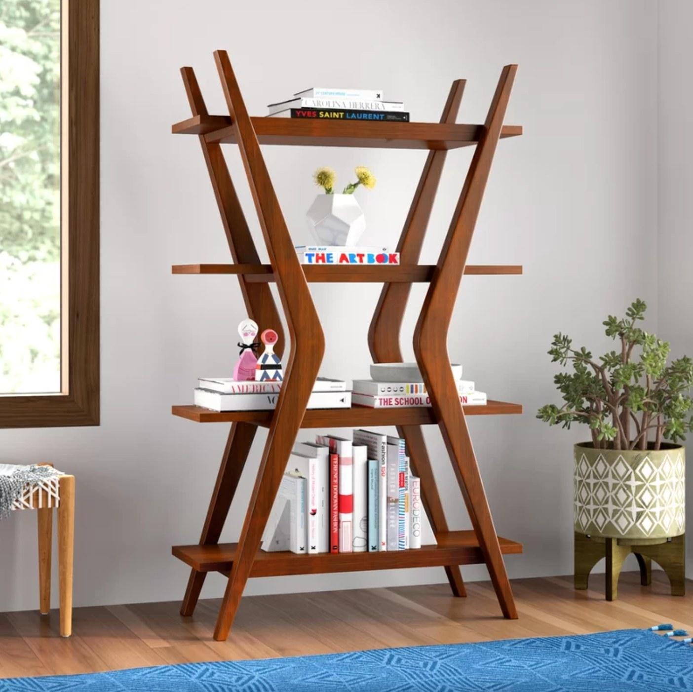The geometric bookcase