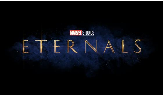 Eternals logo from Marvel Studios