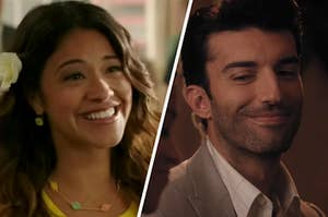 Jane and Rafael in Jane the Virgin