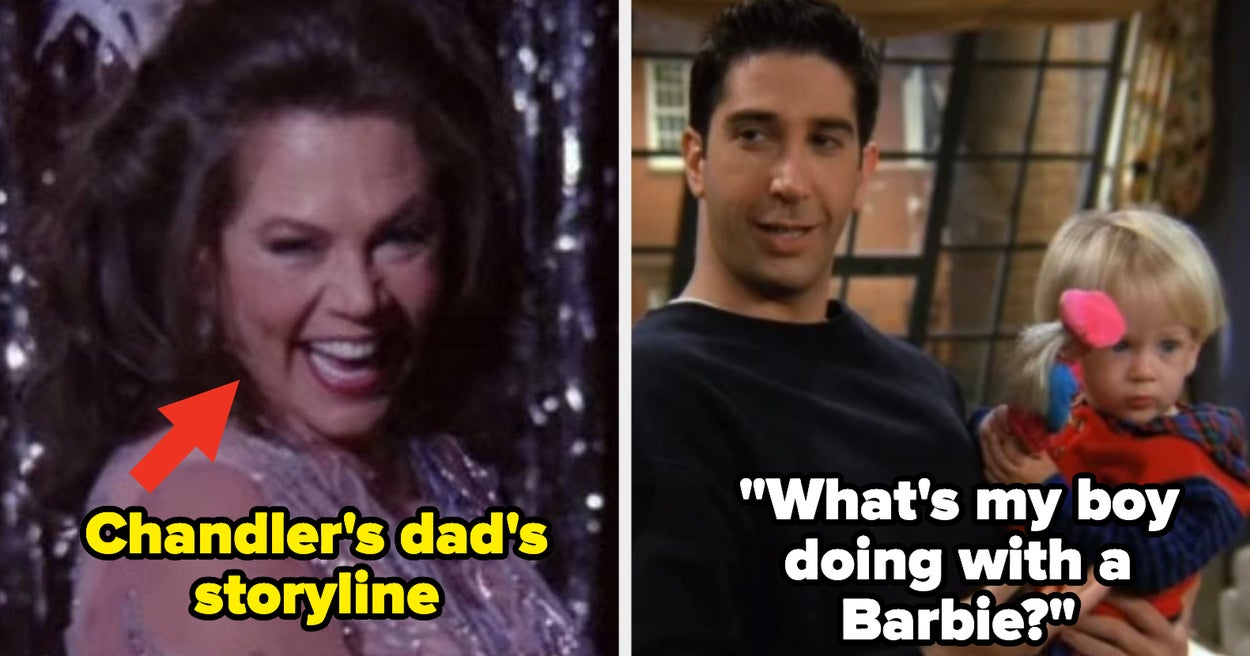 """Friends\"" Did A Really, Really Bad Job Handling Serious Subjects, And Here Are 16 Moments To Prove It - buzzfeed"
