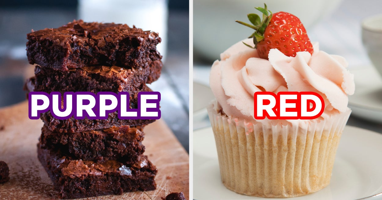 Eat Your Way Through This Dessert Buffet And We'll Reveal The True Color Of Your Aura