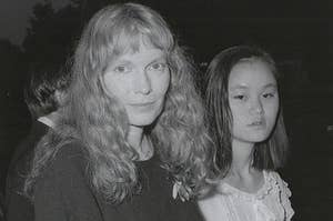 Archived photo of Mia Farrow and Soon-Yi