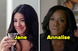"Jane from ""Jane the Virgin"" and Annalise from ""How to Get Away with Murder"""