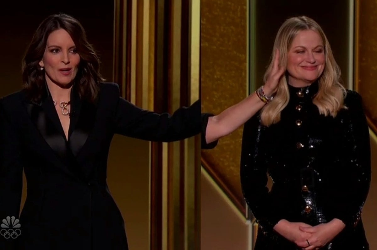 Tina Fey And Amy Poehler Really Roasted The Hell Out Of The Golden Globes - BuzzFeed News