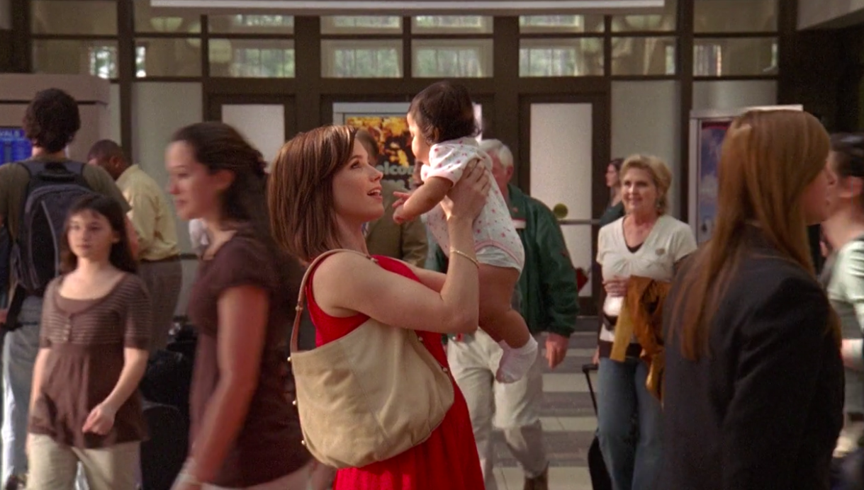 Brooke with baby Angie