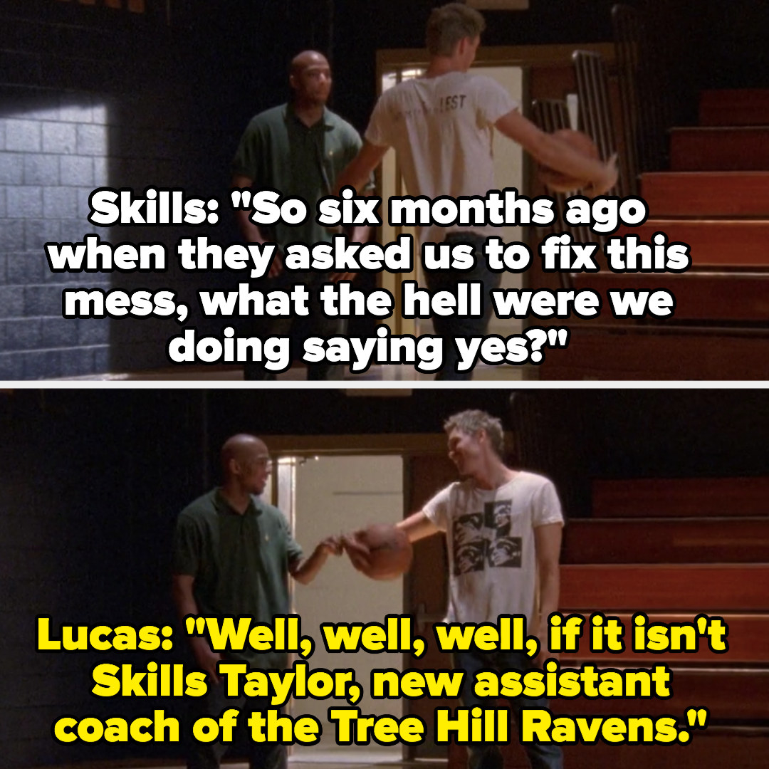 Lucas and Skills as coaches