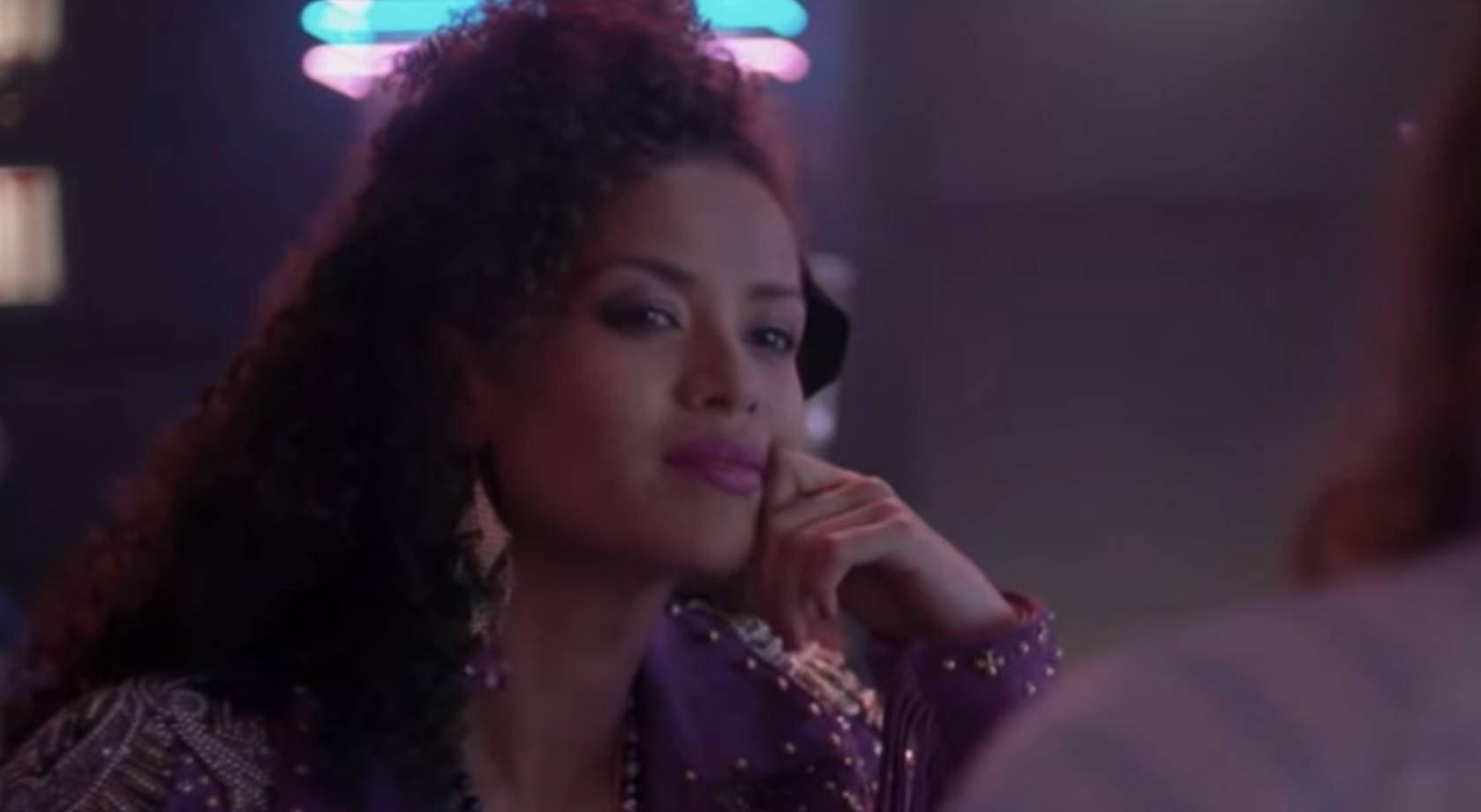 """Gugu in her '80s get-up in """"Black Mirror"""""""