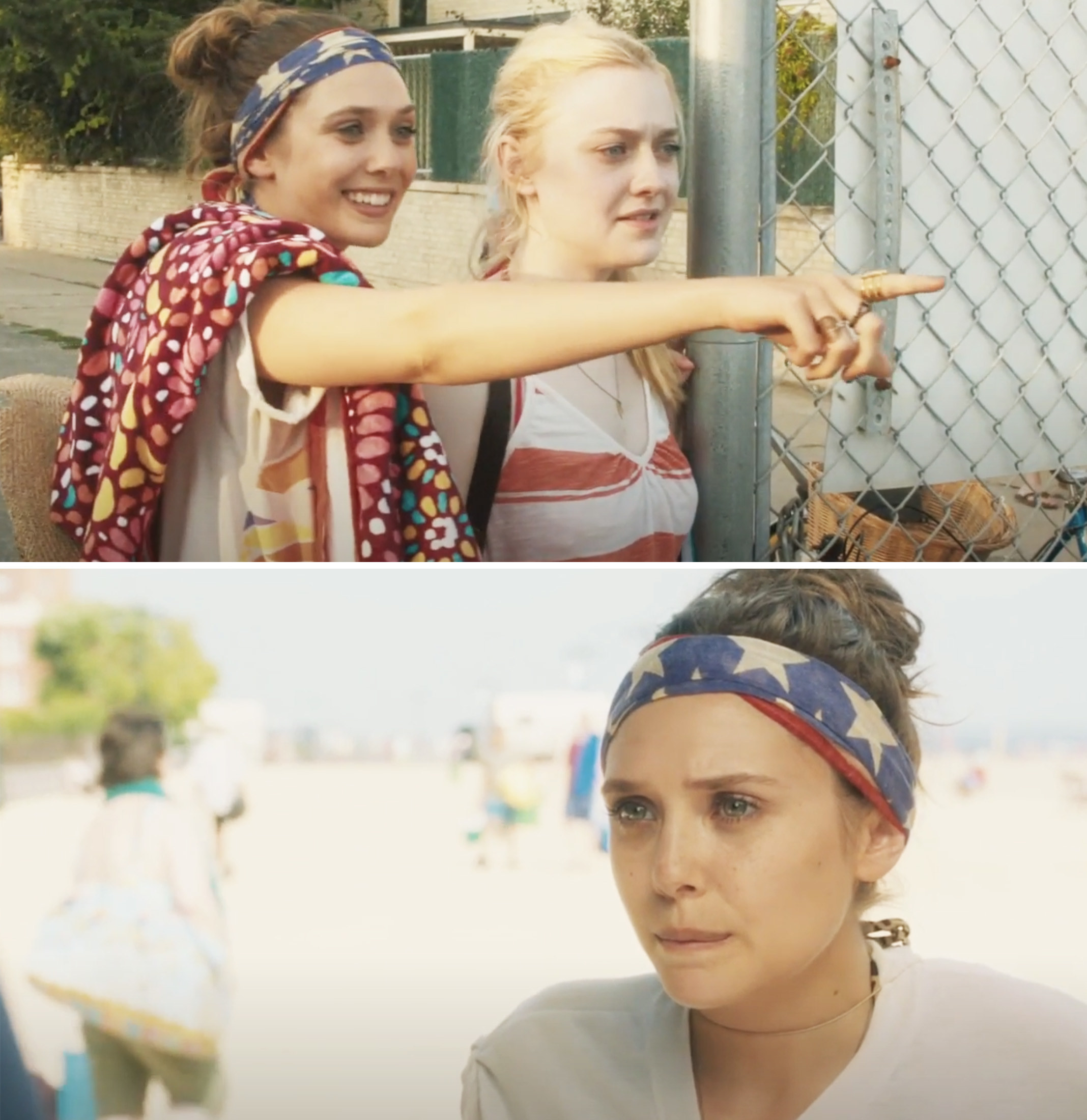 Elizabeth Olsen and Dakota Fanning in Very Good Girls