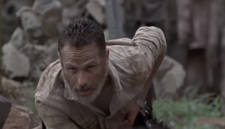 """Rick's final scene in """"The Walking Dead"""""""