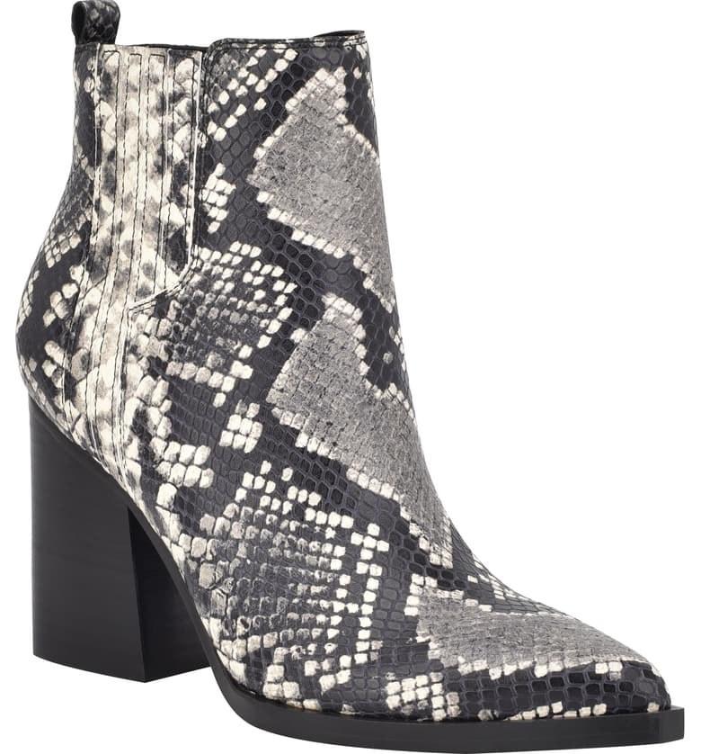 The boot in Black Snake Print