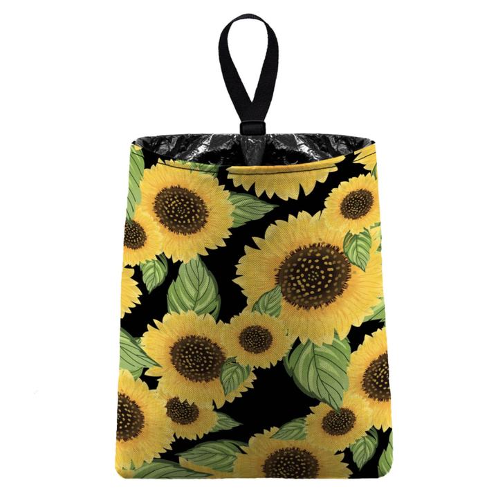 sunflower trash bag