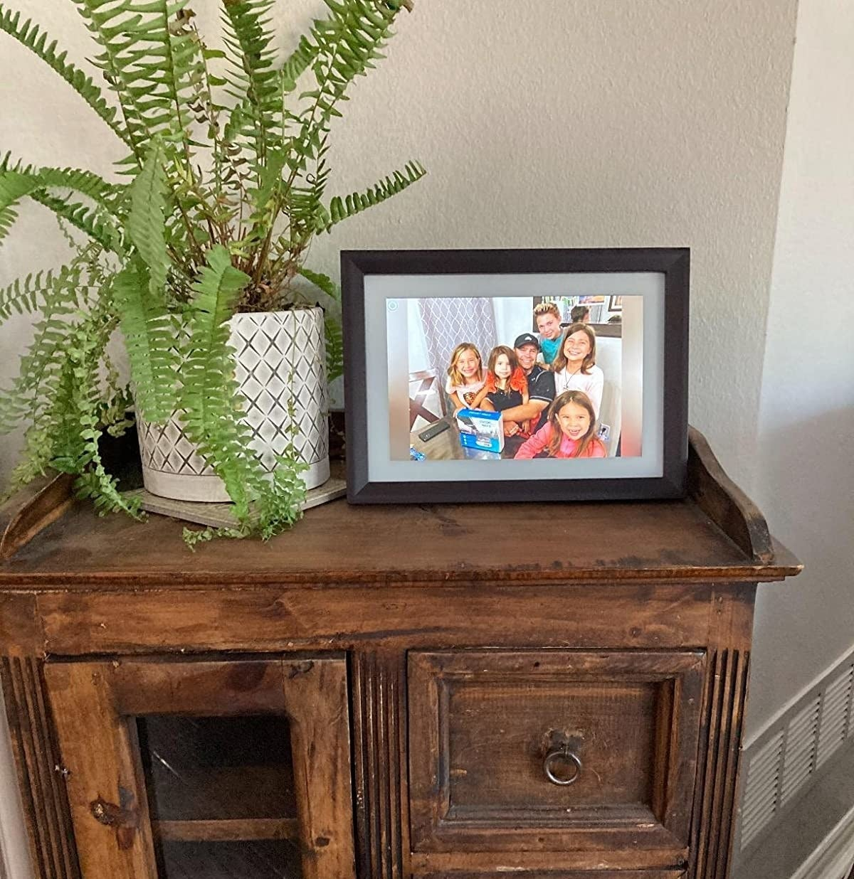the digital picture frame
