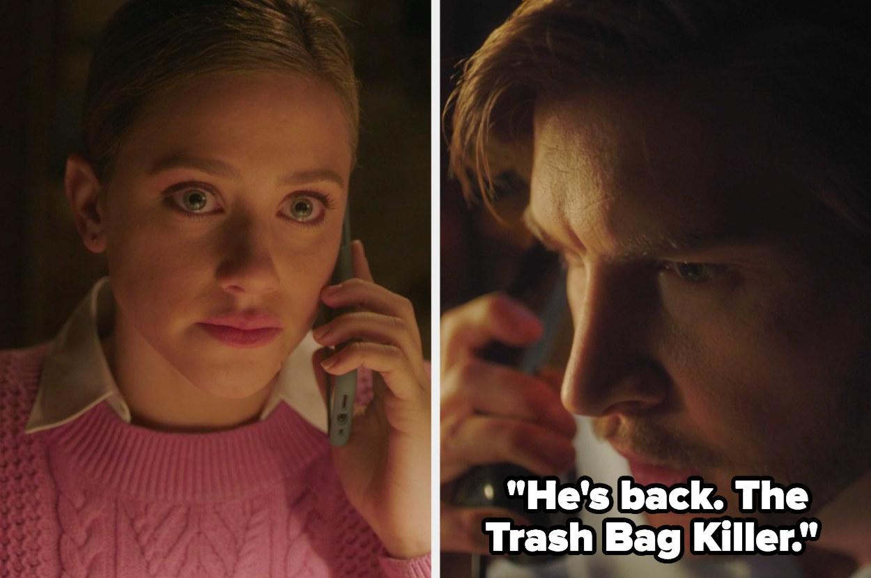 He's back. The Trash Bag Killer