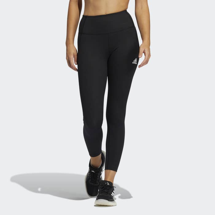 person wearing leggings