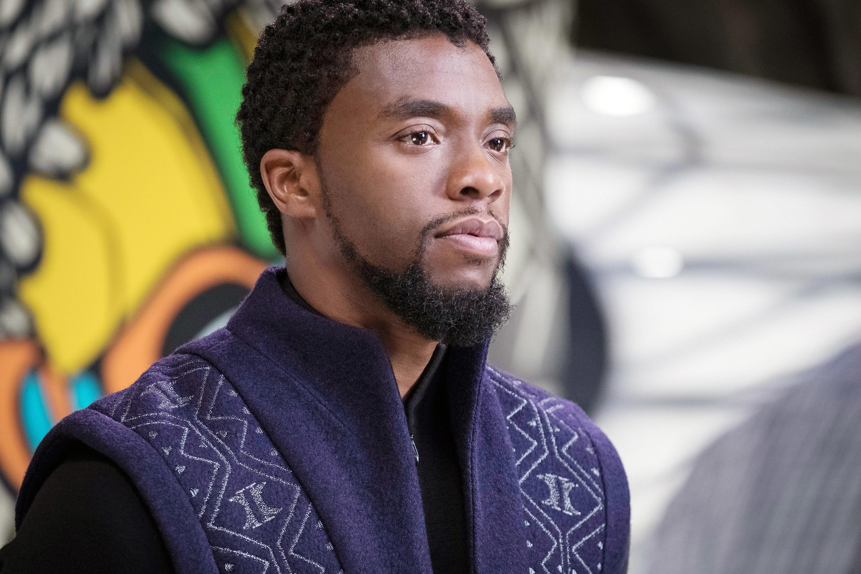 Boseman in Black Panther