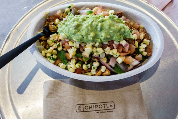 A Chipotle bowl