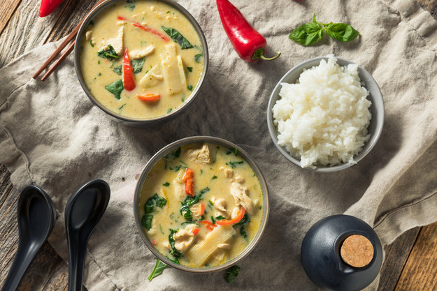 Gang Keow Wan (Thai Green Curry)