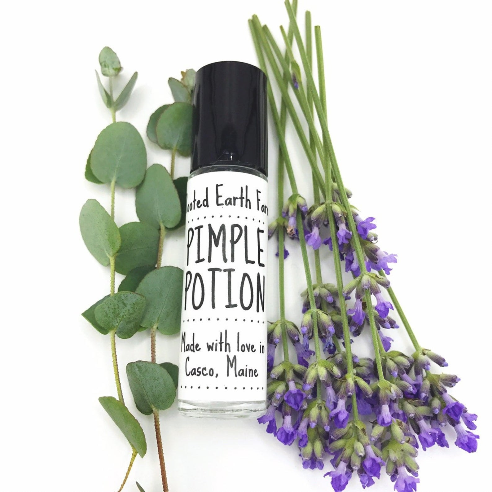 Bottle of Pimple Potion from RootedEarth