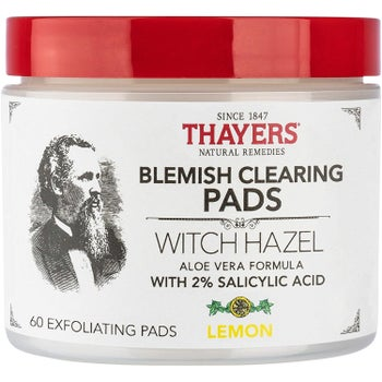 Jar of Thayers Blemish Clearing Pads