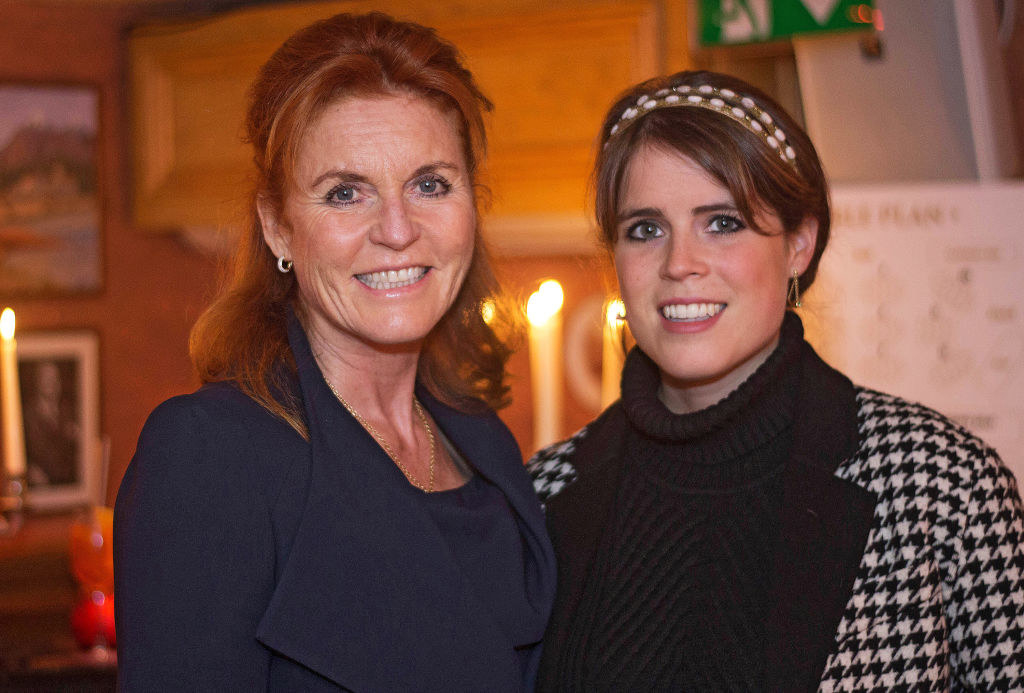 Sarah Ferguson, Duchess of York and Princess Eugenie attend the Miles Frost Fund party at Bunga Bunga Covent Garden on June 27, 2017, in London