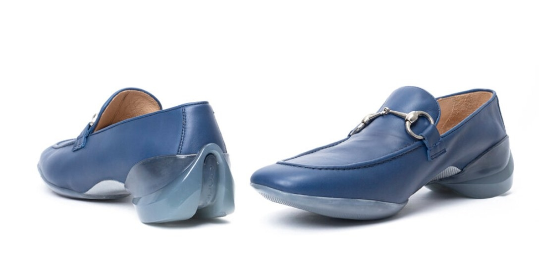 Loafer shoes.