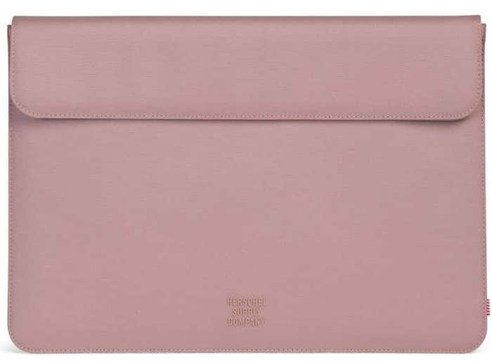 rose gold laptop sleeve