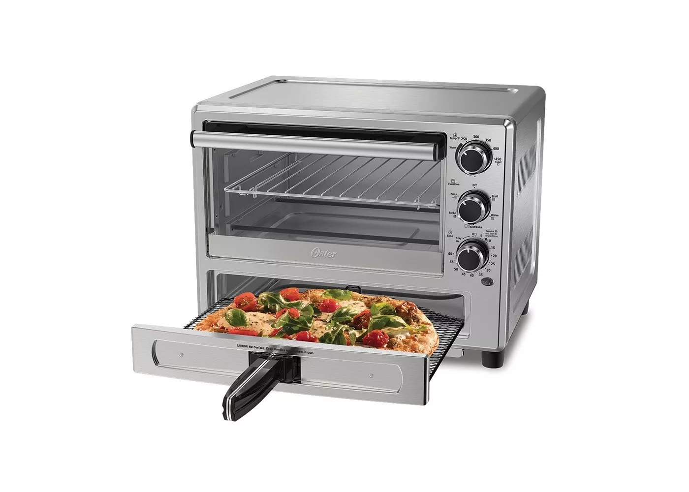 The Oster toaster oven