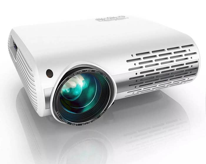 The white projector