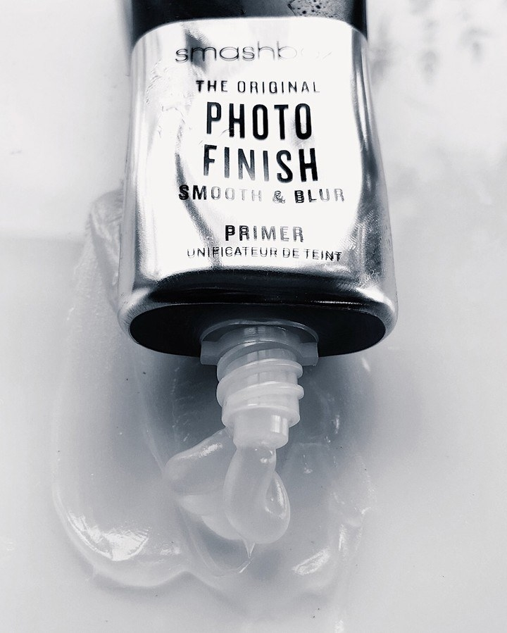 tube of primer being squeezed out