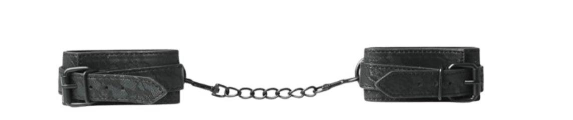The lace cuffs