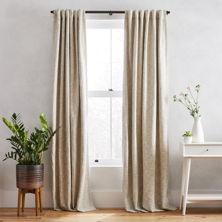 the tweed blackout curtains