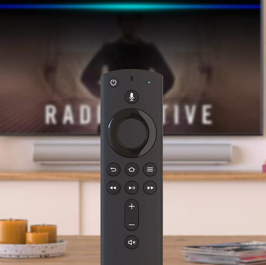 The Amazon Fire stick remote