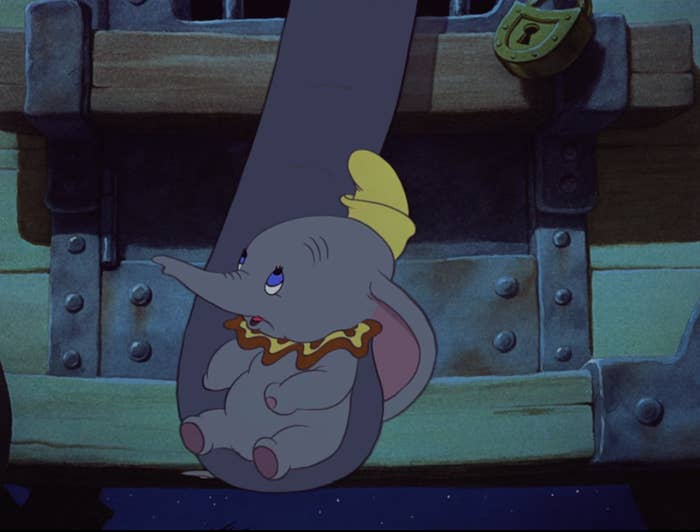 Jumbo and Dumbo connect the only way they can