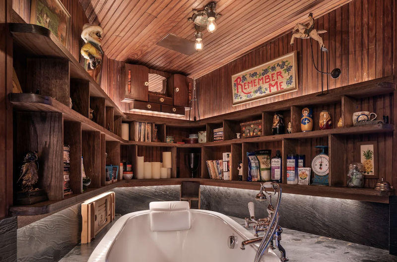 A large deep tub