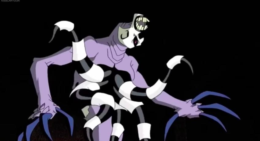 """Ghostfreak from """"Ben 10"""""""