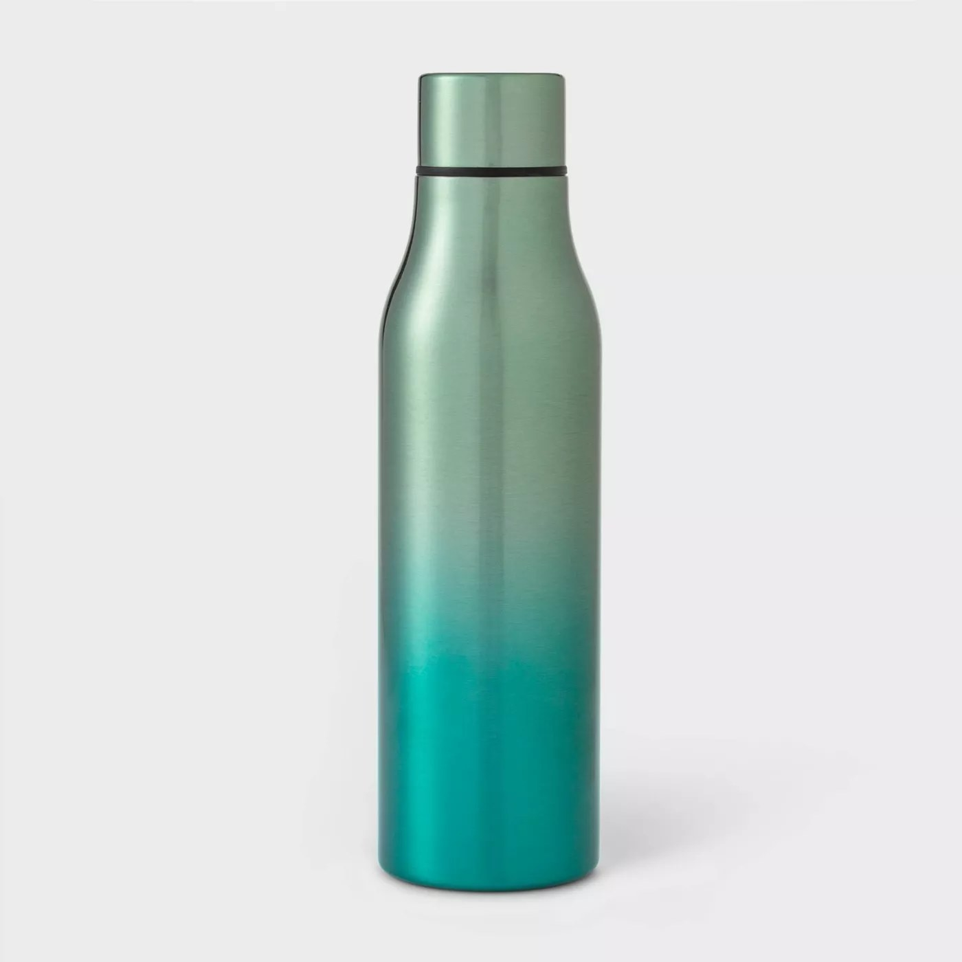The green ombre water bottle